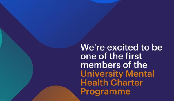 University Mental Health Charter Programme publicity image